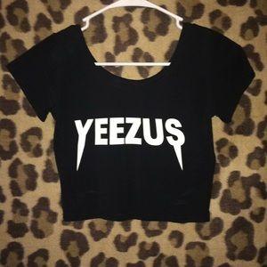 Yeezus crop top
